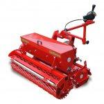 Навесное оборудование - Доминатор с сеялкой для посадки газона